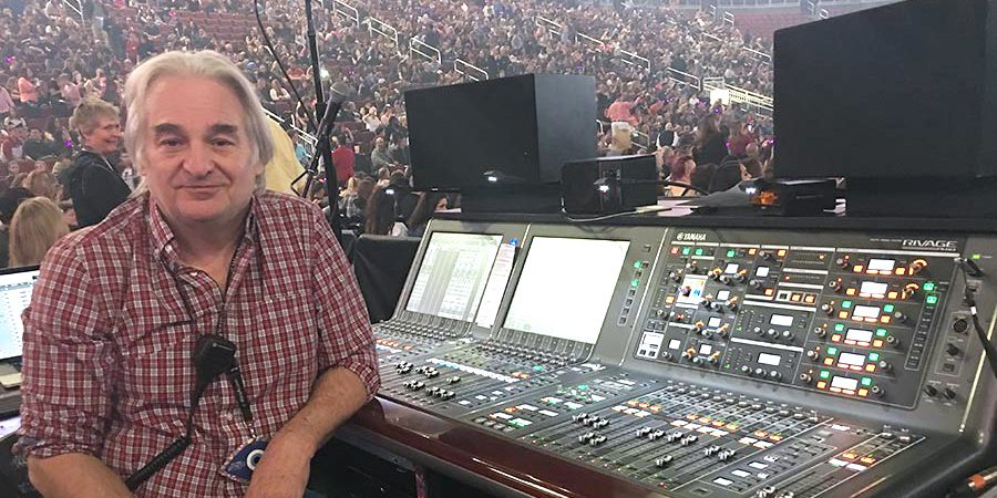 Engineer for Katy Perry Tour On 'Board' with Yamaha PM10