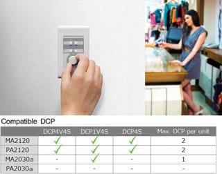 Controllo remoto dal pannello di controllo digitale opzionale della serie DCP