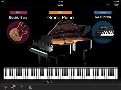 Facile selezione dei suoni e facile impostazione