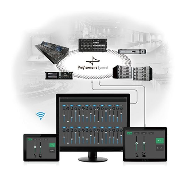 Remotely control entire systems from a single panel
